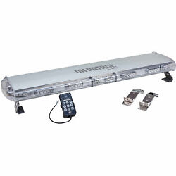 Wolo 7850-r Low Profile Warning Light Bar 44 Alley And Take Down Lights