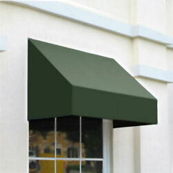 Awntech Window/entry Awning 10-3/8and039w X 4-11/16and039h X 4and039d Sage