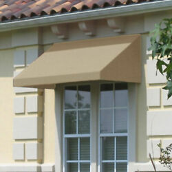 Awntech Window/entry Awning 10-3/8and039w X 2and039h X 3and039d Linen