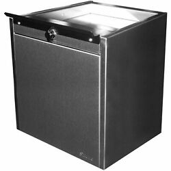 Shuresafe Duo-drawer W/sliding Deal Tray, 20-1/2h For 8 Thick Wall, Ul Bullet