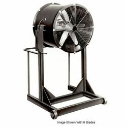 Americraft 24 Steel Propeller Fan With High Stand 1/2 Hp 6060 Cfm