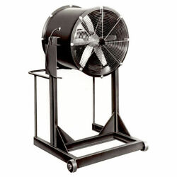 Americraft 24 Steel Propeller Fan With High Stand 1/3 Hp 5430 Cfm