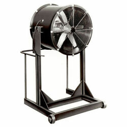 Americraft 24 Steel Propeller Fan With High Stand 1 Hp 7350 Cfm