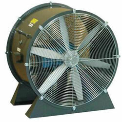 Americraft 24 Tefc Aluminum Propeller Fan With Low Stand 1 Hp 7400 Cfm