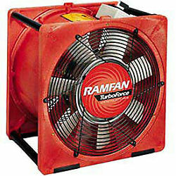 Euramco Safety Eg8000x 16 Smoke Removal Fan With Explosion Proof Motor 1-1/2 Hp