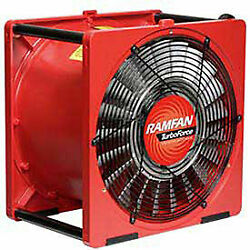 Euramco Safety Ea7000x 16 Smoke Removal Fan With Explosion Proof Motor 1/2 Hp