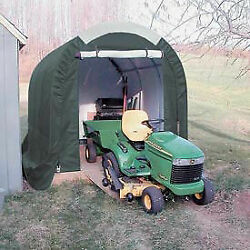 Mini Garage/storage Shed Gray 8and039w X 8and039h X 12and039l