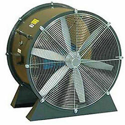 Americraft 24 Tefc Aluminum Propeller Fan With Low Stand 1-1/2 Hp 8200 Cfm