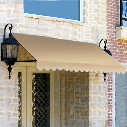 Awntech Window/entry Awning 10-3/8and039w X 1-5/16and039h X 2-1/2and039d Linen
