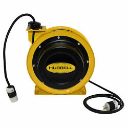 Industrial Duty Cord Reel With Single Outlet 12/3c X 50and039 Cable Gcc12350-sr