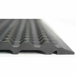 Ergomat Nitril Esd Anti-fatigue Mat 3and039 X 13and039 Black