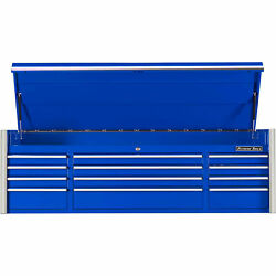 Extreme Tools Rx722512chbl Professional 12 Drawer Blue Top Chest, 72w X 25d X
