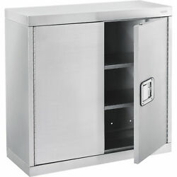 Wall Cabinet, Stainless Steel 304, 30w X 12d X 30h