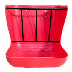 High Country Hwf-r Plastics Hanging Wall Feeder With Hardware, Red