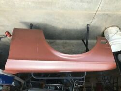 1968 Mustang Shelby Nos Red Oxide Drivers Side Fender