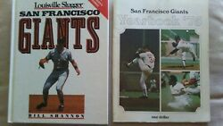 1975 Sf Giants Yearbook And 1991 Giants Louisville Slugger By Bill Shannon