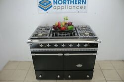 Lacanche Range Cooker Cluny 100 Dual Fuel Steam Cleaned In Good Order 301