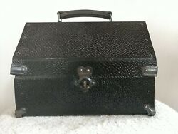 Antique Rare Thermos 1914 Embossed Lunch Box