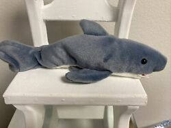 Rare And Retired Beanie Baby 1996 Crunch The Shark 4th Generation
