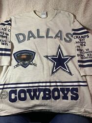 Long Gone Size Xl Dallas Cowboys Vintage 1971 Team Nfl Gift For Him Christmas