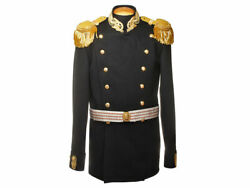 Russian Imperial Navy Officer Uniform Kit Captain Epaulettes Wwi High Quality