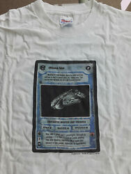 Star Wars Ccg - Millennium Falcon T-shirt - See Pictures Of Actual Shirt