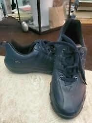 Hotter Of England Womens Leanne Gortex Sneakers Us Size 6.5 Uk 4.5 Navy Blue
