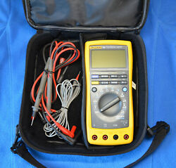 Fluke 189 True Rms Multimeter With Original Leads Manual Case And More