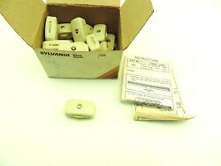 Lot Of 21 Sylvania 253-1 In Line Rotary Switch 18/2 Spt-1 Lamp Cord Lamp Ivory