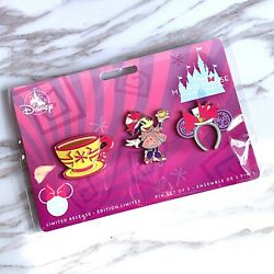 Disney Minnie Mouse Main Attraction March 3 Of 12 Tea Party Pins Set New