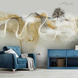 Chinese Style Modern Abstract Landscape Wall Mural Home Decor Wallpaper 3D Photo