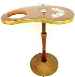 Vintage Mid Century Modern Smoking Pedestal Floor Stand Ashtray Cigar 50and039s 60and039s