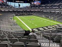4 Tickets To The Sold Out Las Vegas Raiders Vs Washington Football Team Game.