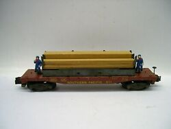 971 American Flyer Southern Pacific Operating Lumber Unloading Car [lot H7-f1]
