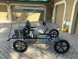 Rhoades Car Quadricycle - 2 Seats - Motorized - With Sun Shade Roof