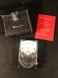 Triplett Mighty Mite Vom Model 310 Type 3 Voltage Tester W/manual, Case Untested