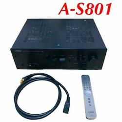 Yamaha Integrated Amplifier A-s801 B [black] 12.1kg W435×h152×d387mm Used