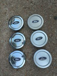 6-2003-2004-2005-2006 Ford Expedition Center Caps For 6 Bolt Wheels