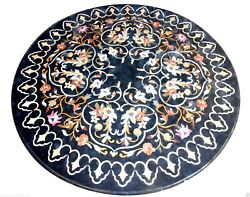 30x30 Marble Coffee Tables Top Pietra Dura Inlay Occasional Decorative Gift