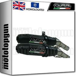 Gpr Exhaust Homologated Deeptone Black Cafe Racer Bmw R 1100 Gs - R- Rt 1997 97