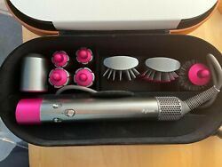 Dyson Airwrap Nickel And Fuchsia Complete Styler - 31073101