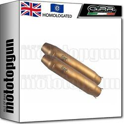Gpr Exhaust Homologated Deeptone Bronze Cafe Racer Bmw R 80 R - Rs 1983 83