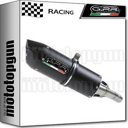 Gpr Full System Exhaust Race Furore Black Kymco Agility 150 R12 2007 07 2008 08