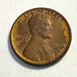1918-s Lincoln Wheat Penny
