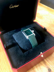 Louis Tank Green Dial Steel Limited Edition