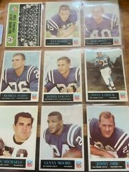 1965 Philadelphia Football Complete Set Of 198 Cards Vg-ex Condition