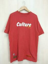 Heron Preston S Red Print Red Cotton Fashion Tee Shirts 11911 From Japan