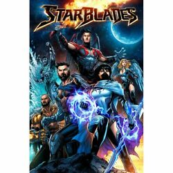 STARBLADES main cover FIRST ISSUE Kyle Ritter