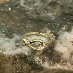 Welsh Clogau 9ct Yellow And Rose Gold Eternity Ring Andpound100 Off Size N Discontinued