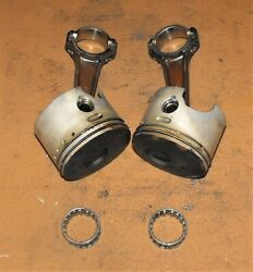 Evinrude 115 Hp 2 Stroke Piston And Rod Assembly Stbd Pn 0439868 Fits 1997-1999